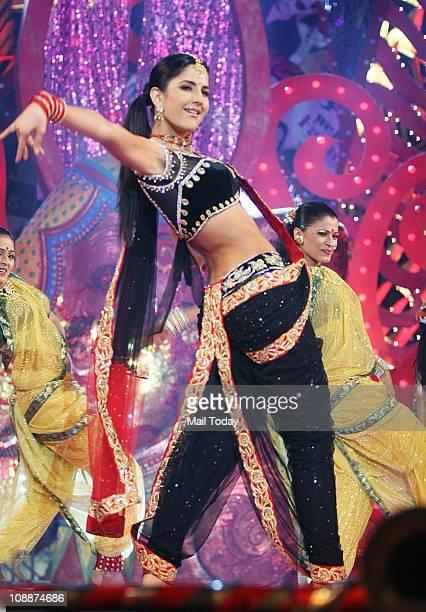Katrina Kaif performing during the Stardust Awards function in Mumbai on Sunday evening