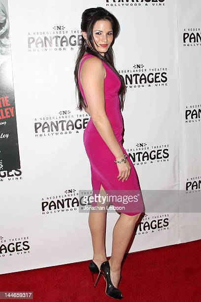 Katrina Law attends the 'Chicago' Los Angeles Opening Night at the Pantages Theatre on May 16 2012 in Hollywood California