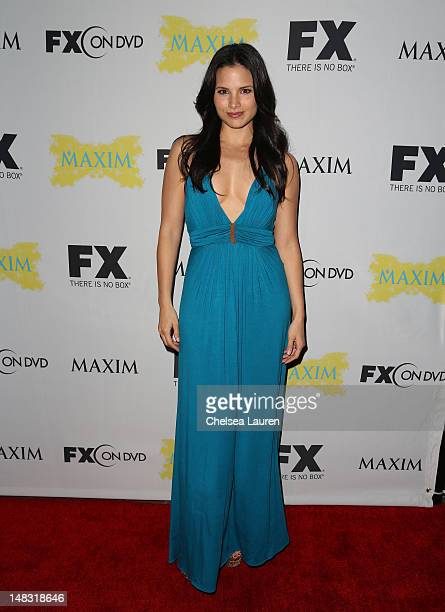 Katrina Law attends the Maxim FX and Fox Home Entertainment ComicCon Party at Andaz on July 13 2012 in San Diego California