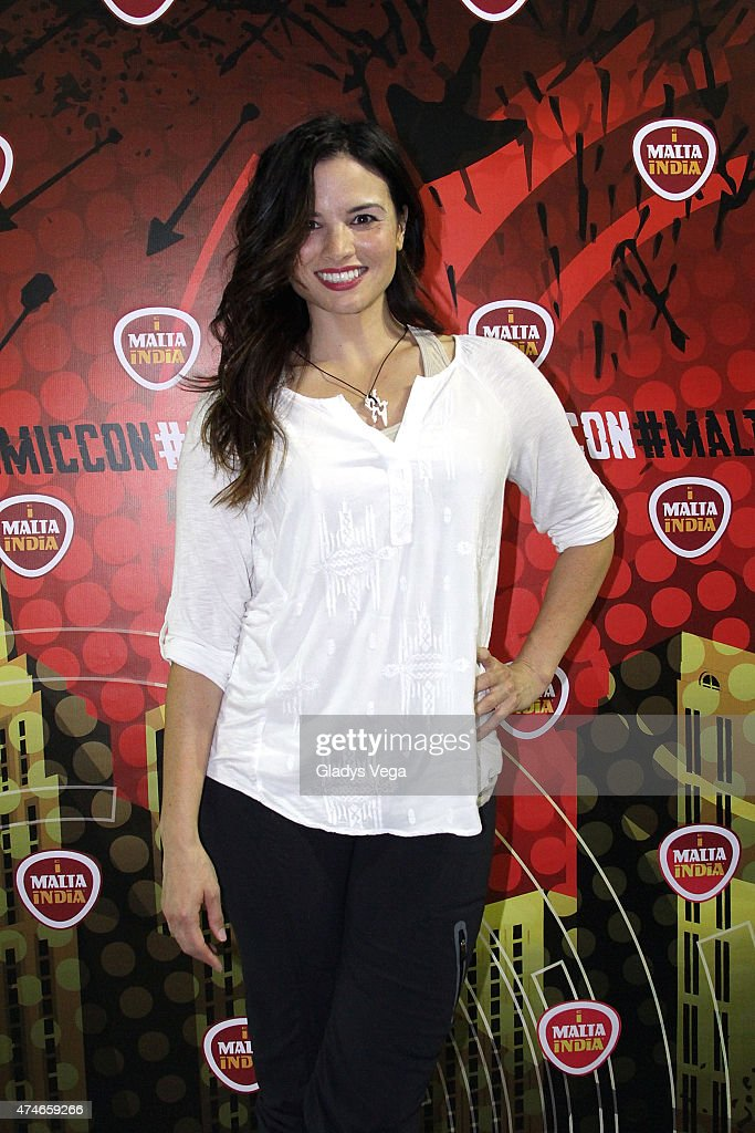 Katrina Law of TV series 'Arrow' attends Puerto Rico Comic Con at the Puerto Rico Convention Center on May 24, 2015 in San Juan, Puerto Rico.