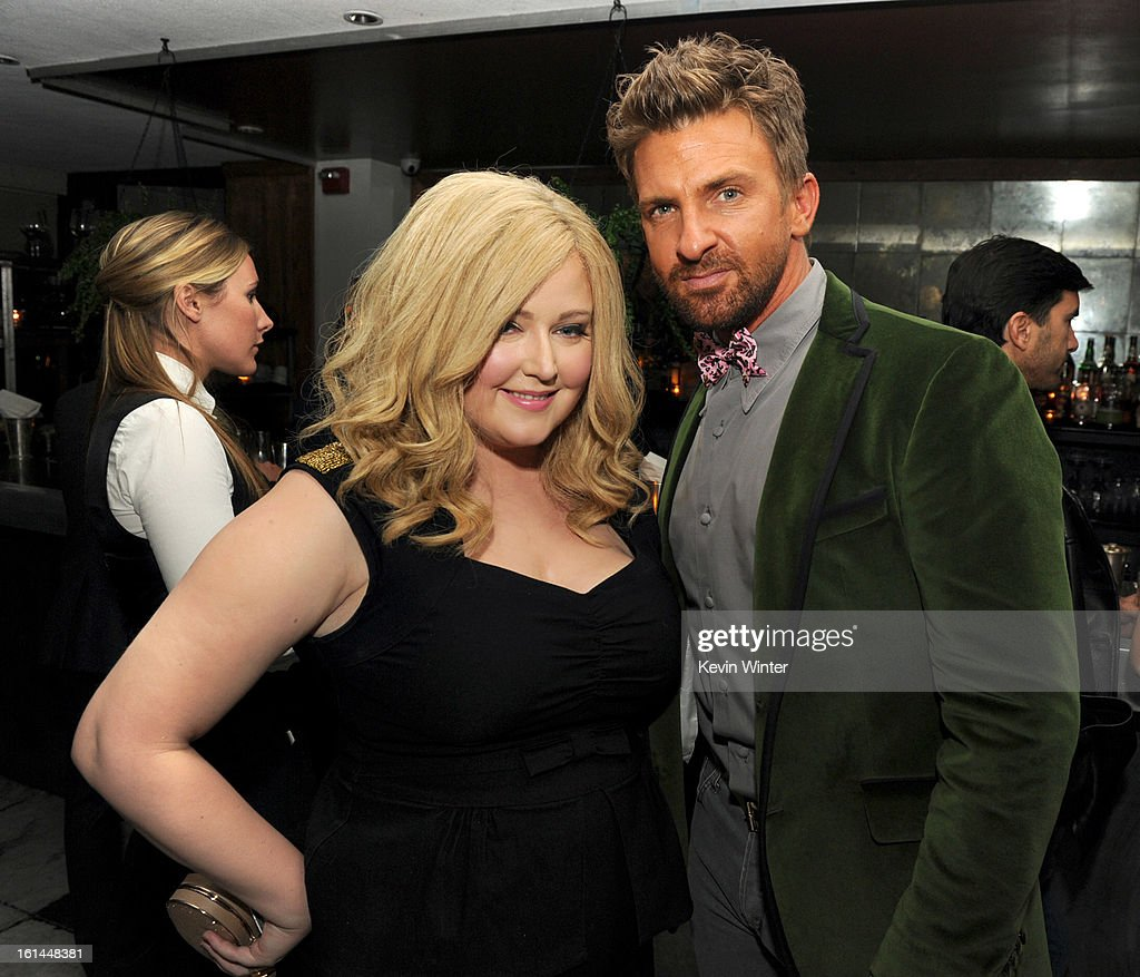 Katrina Parker and Ryan Black attend the Maroon 5 Grammy After Party & Adam Levine Fragrance Launch Event on February 10, 2013 in West Hollywood, California.
