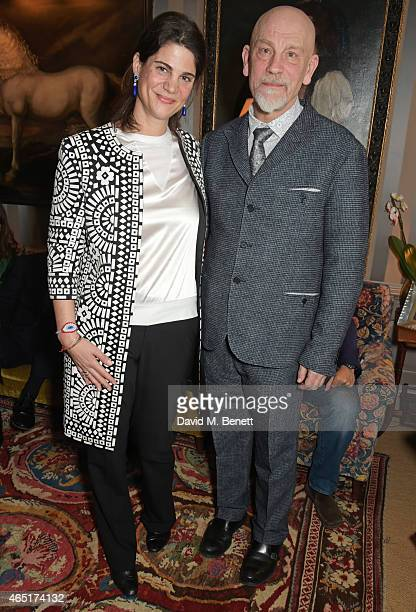 Katrina Pavlos and John Malkovich attend the premiere of 'A Postcard From Istanbul' directed by John Malkovich in collaboration with St Regis Hotels...