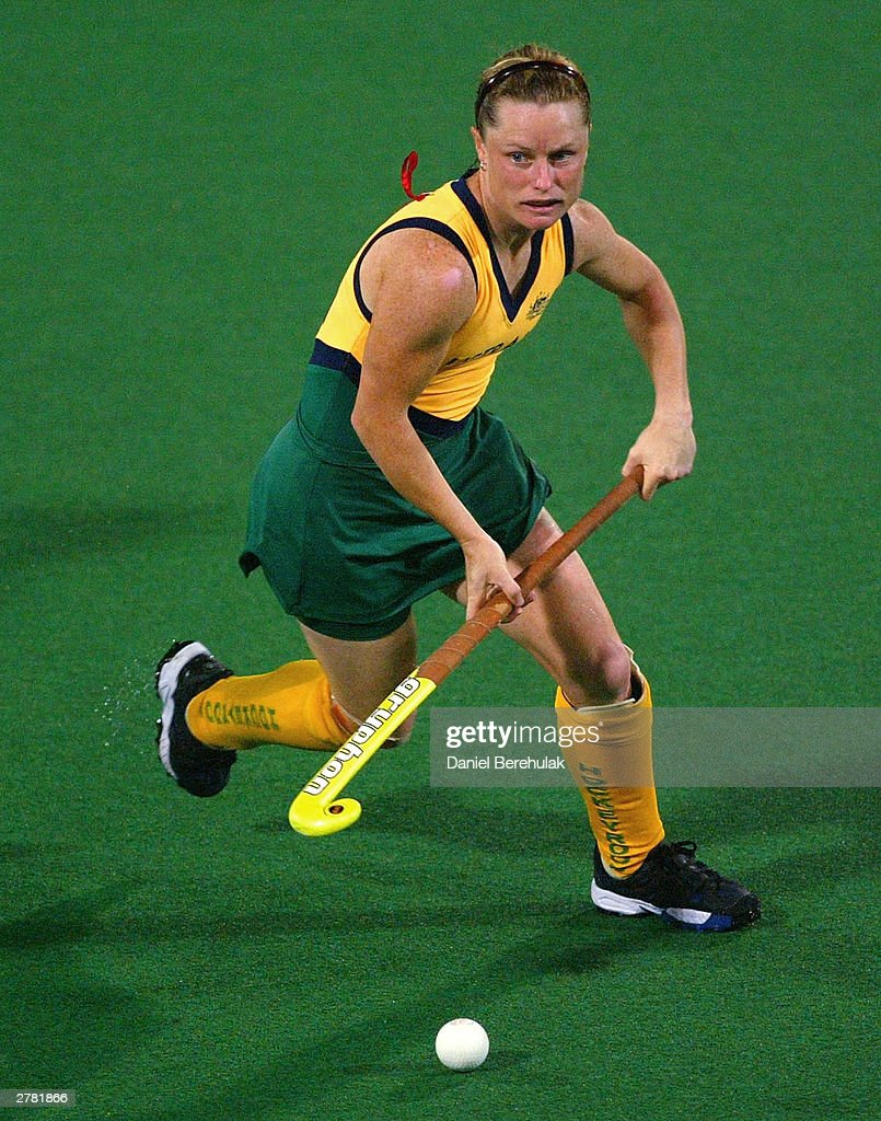 Katrina Powell Of Australian In Action During The BDO Hockey Champions Trophy Match Between Australia And