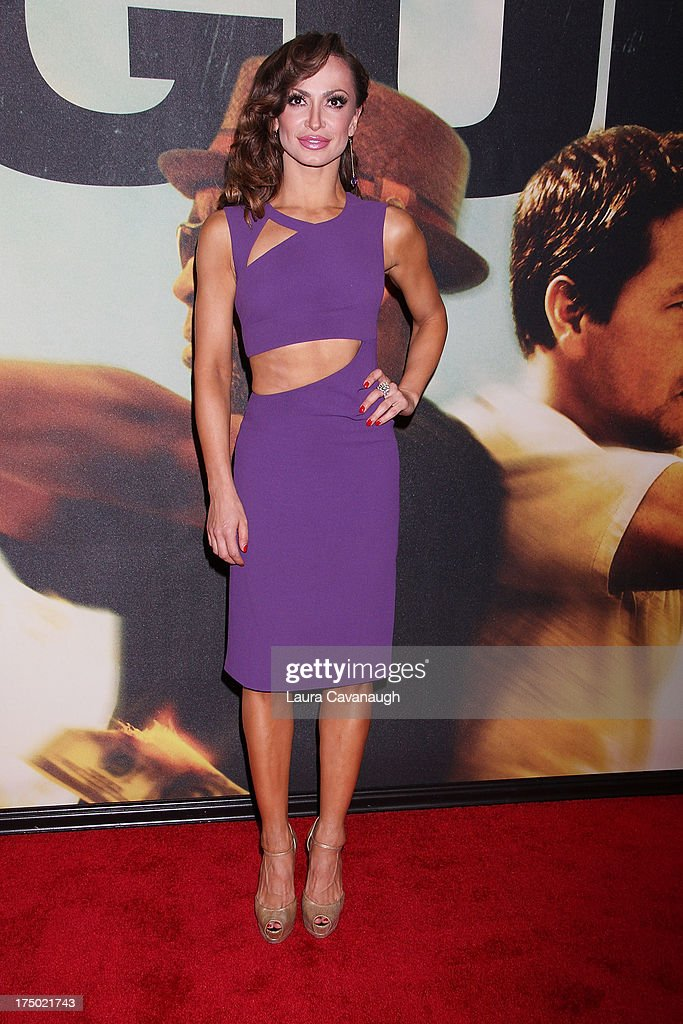Katrina Smirnoff attends the '2 Guns' premiere at SVA Theater on July 29, 2013 in New York City.