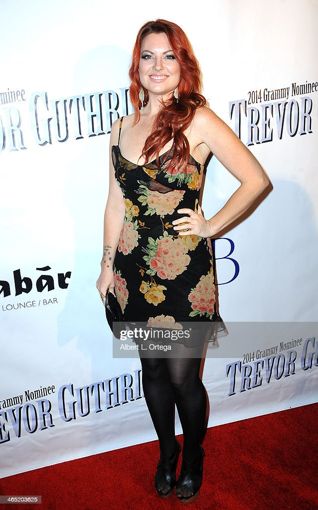 Katrina Stone arrives for Pre-Grammy Celebration Party For Trevor Guthrie held at Acabar on January 25, 2014 in Los Angeles, California.