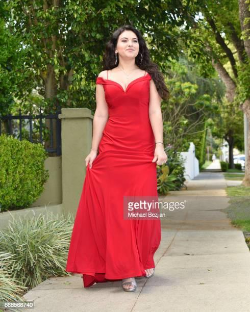 Katrina Stuart attends Celebrity Stylist Ali Levine Dresses Today's Influencers For Prom/Spring Fling Event at Pistol Stamen on April 13 2017 in Los...