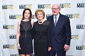 Katrina vanden Heuvel Matilda Cuomo and William vanden Heuvel attend The Municipal Art Society of New York 2016 Jacqueline Kennedy Onassis Medal at...