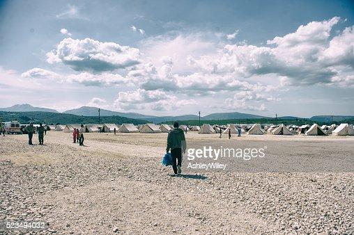 Katsikas Refugee Camp in Greece