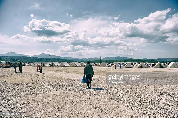 Katsikas campo de refugiados na Grécia