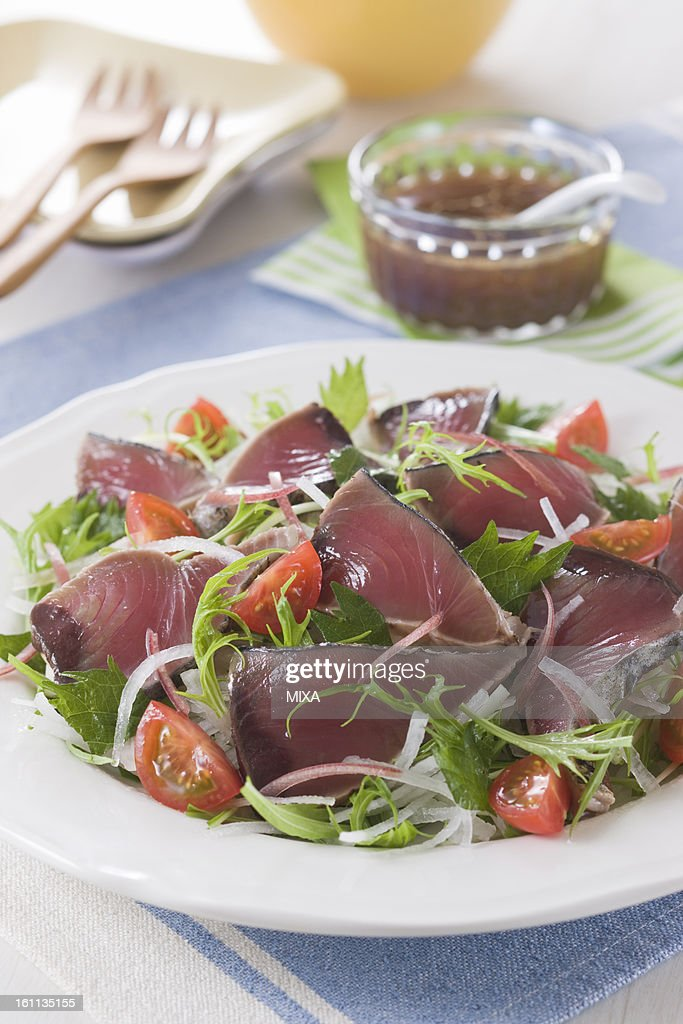 Katsuo-no-tataki Salad