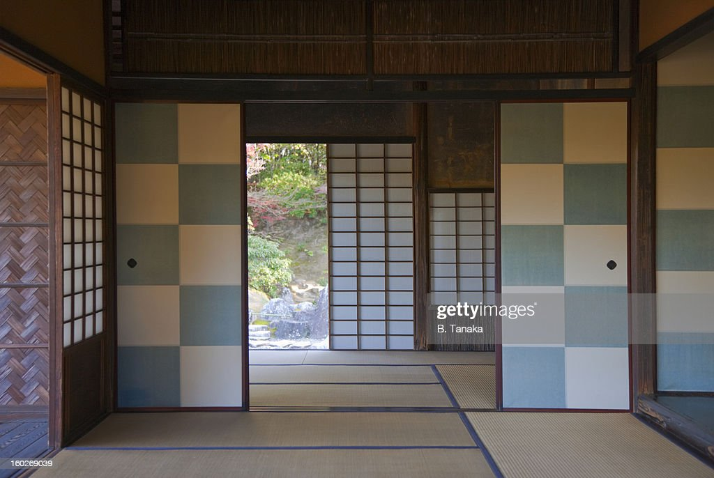 Katsura Imperial Villa interior in Kyoto, Japan : Stock Photo