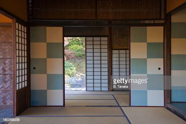 Katsura Imperial Villa interior in Kyoto, Japan