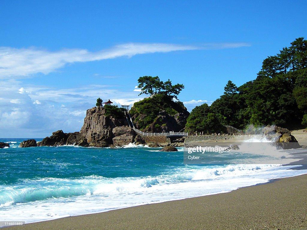 Katsurahama Beach in summer