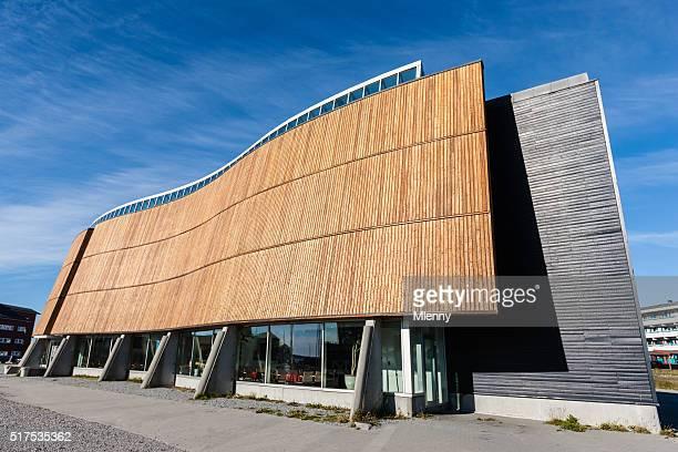 Katuaq Nuuk Inuits centre culturel Godthab Groenland
