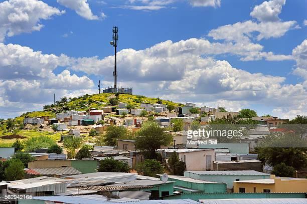 Katutura, the slum district of Windhoek, Namibia