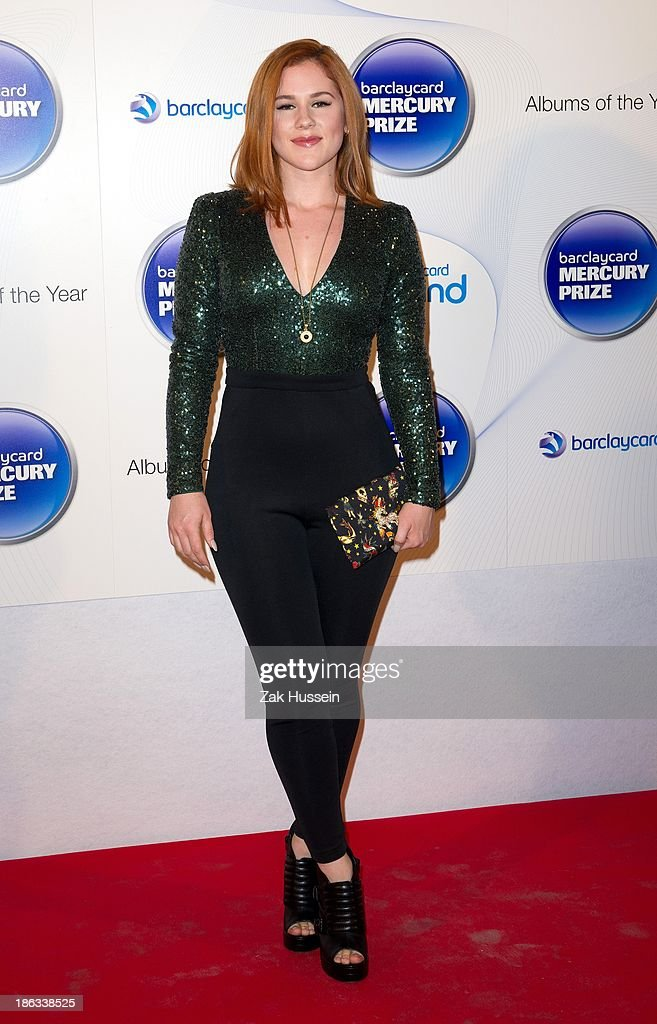 <a gi-track='captionPersonalityLinkClicked' href=/galleries/search?phrase=Katy+B&family=editorial&specificpeople=7179411 ng-click='$event.stopPropagation()'>Katy B</a> attends the Barclaycard Mercury Prize at The Roundhouse on October 30, 2013 in London, England.
