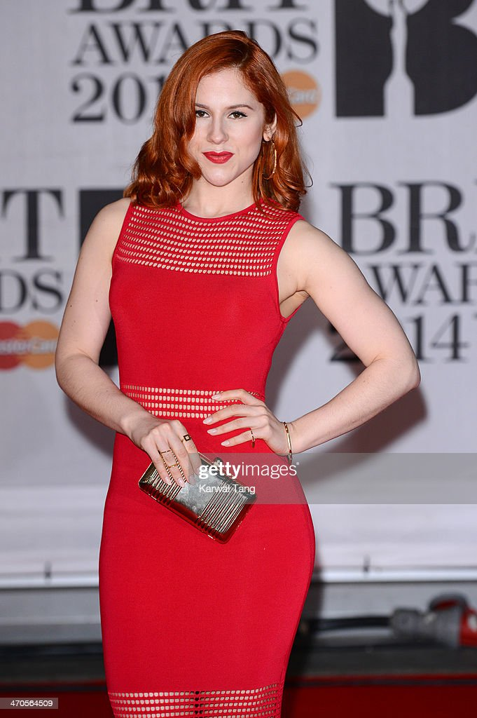 Katy B attends The BRIT Awards 2014 at 02 Arena on February 19, 2014 in London, England.