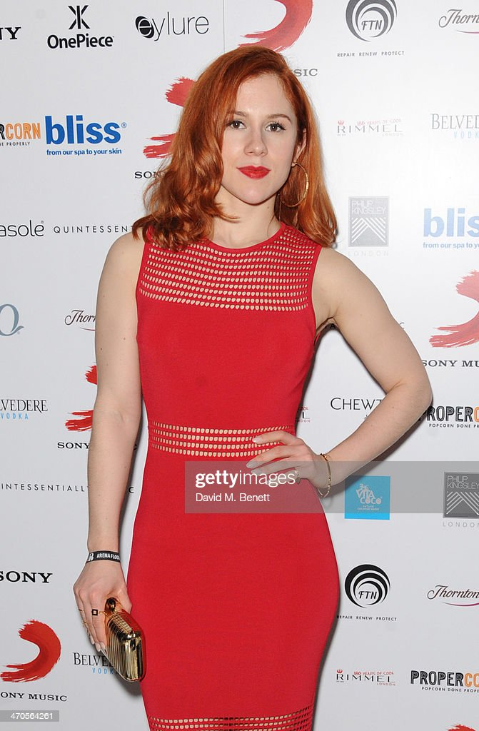 <a gi-track='captionPersonalityLinkClicked' href=/galleries/search?phrase=Katy+B&family=editorial&specificpeople=7179411 ng-click='$event.stopPropagation()'>Katy B</a> attends The BRIT Awards 2014 Sony after party on February 19, 2014 in London, England.