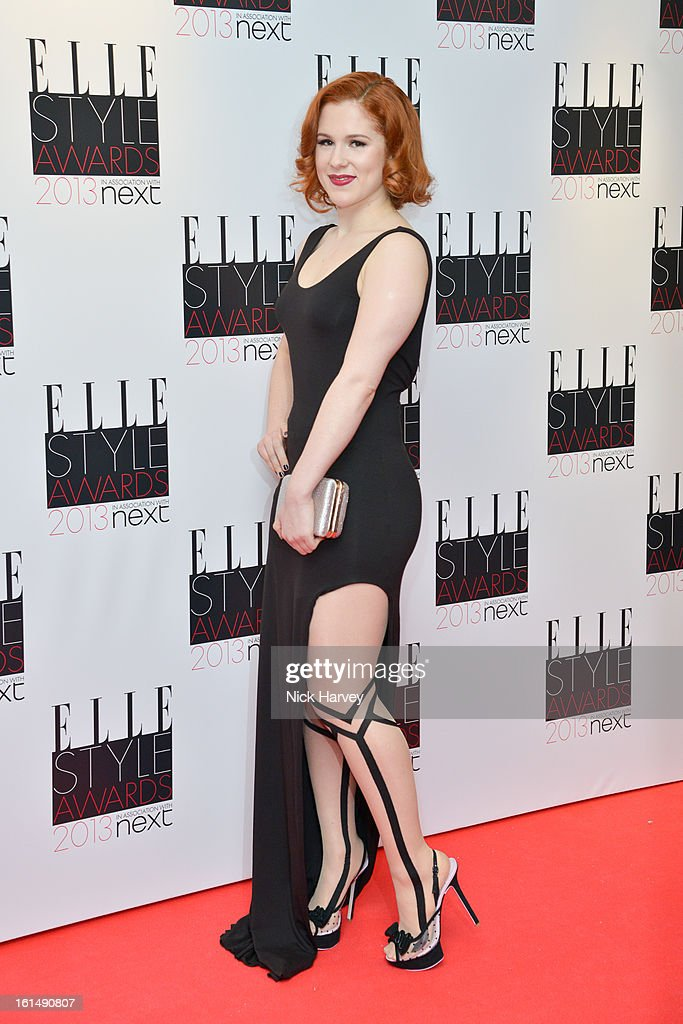 Katy B attends the Elle Style Awards 2013 on February 11, 2013 in London, England.