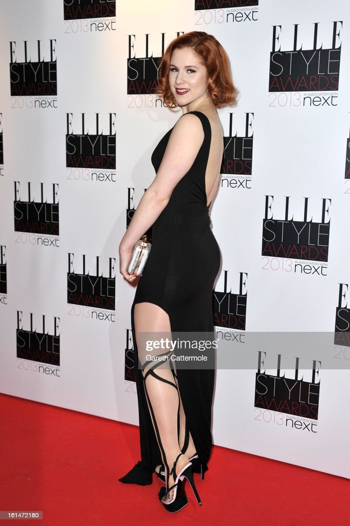 Katy B attends the Elle Style Awards at The Savoy Hotel on February 11, 2013 in London, England.