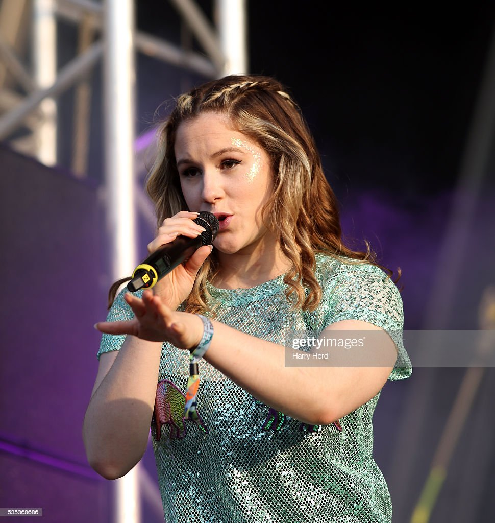 Katy B performs at Common People Festival at Southampton Common on May 29, 2016 in Southampton, England.