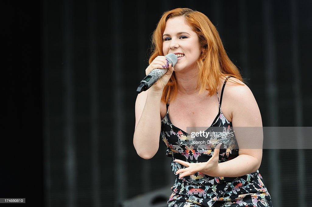 Katy B performs at Day 2 of Global Gathering at Long Marston Airfield on July 27, 2013 in Stratford-upon-Avon, England.