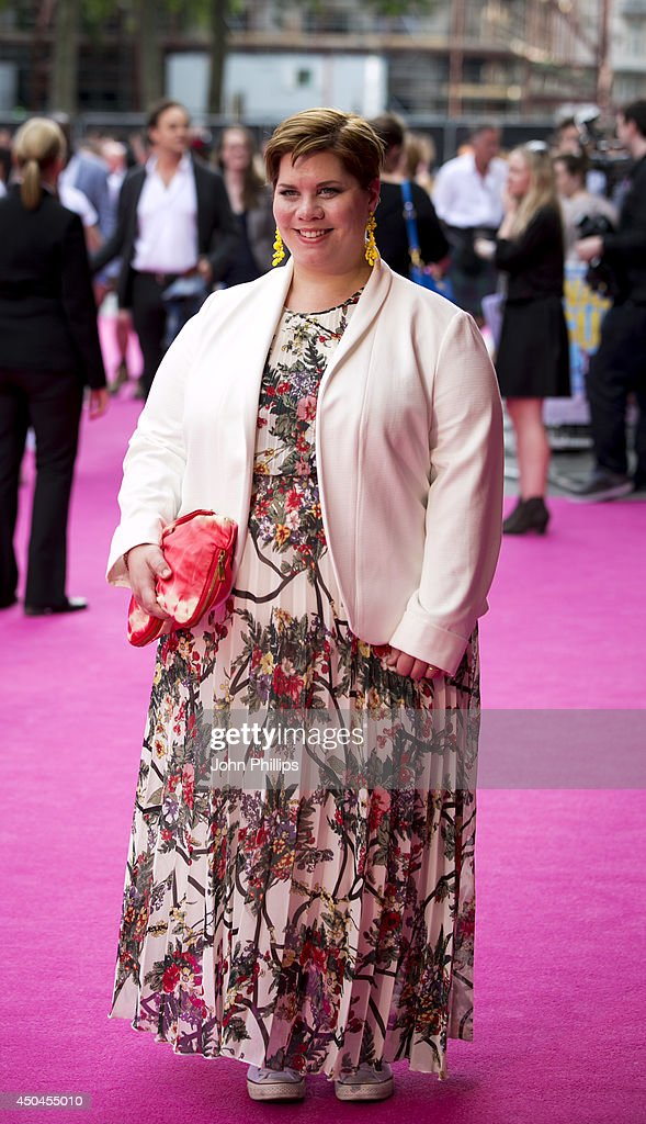 <a gi-track='captionPersonalityLinkClicked' href=/galleries/search?phrase=Katy+Brand&family=editorial&specificpeople=5339668 ng-click='$event.stopPropagation()'>Katy Brand</a> attends the UK Premiere of 'Walking On Sunshine' at Vue West End on June 11, 2014 in London, England.