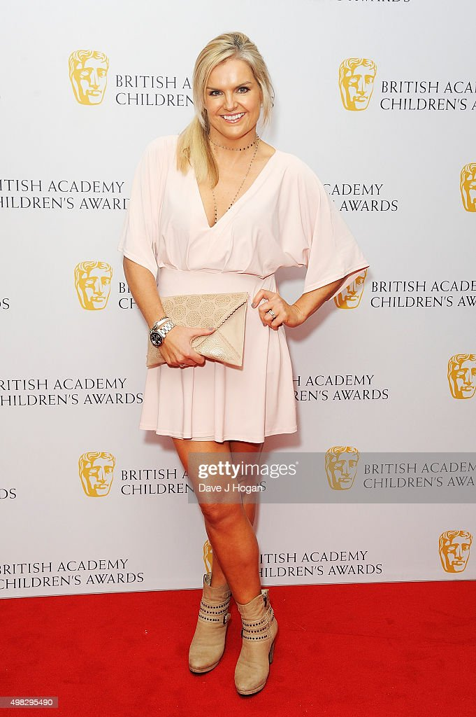 Katy Hill attends the British Academy Children's Awards at The Roundhouse on November 22 2015 in London England