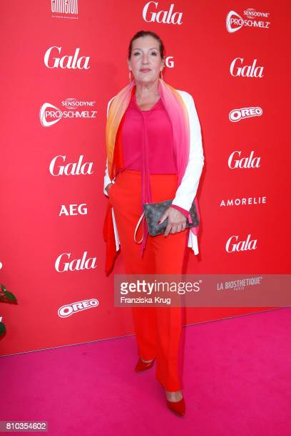 Katy Karrenbauer attends the Gala Fashion Brunch during the MercedesBenz Fashion Week Berlin Spring/Summer 2018 at Ellington Hotel on July 7 2017 in...