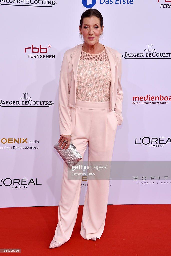 Katy Karrenbauer attends the Lola - German Film Award (Deutscher Filmpreis) on May 27, 2016 in Berlin, Germany.