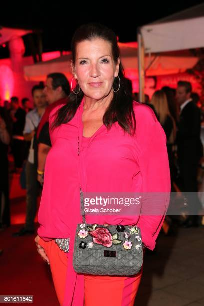 MUNICH GERMANY JUNE 26 Katy Karrenbauer during the Movie meets Media Party during the Munich Film Festival on June 26 2017 in Munich Germany