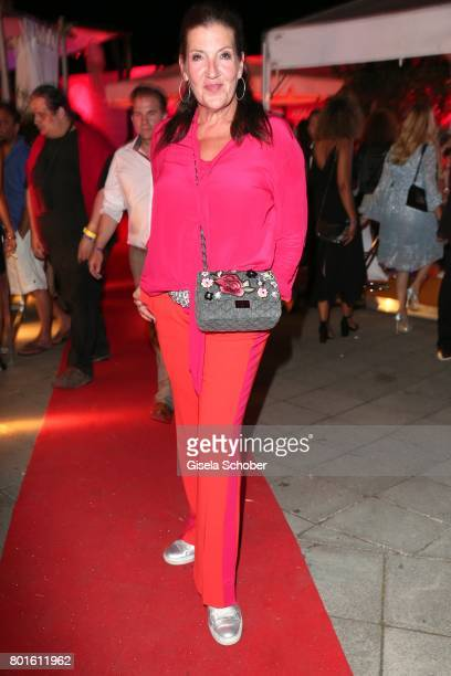 Katy Karrenbauer during the Movie meets Media Party during the Munich Film Festival on June 26 2017 in Munich Germany