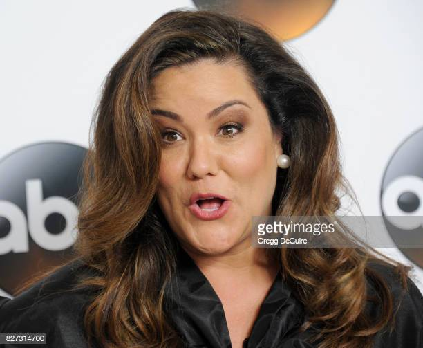Katy Mixon arrives at the 2017 Summer TCA Tour Disney ABC Television Group at The Beverly Hilton Hotel on August 6 2017 in Beverly Hills California