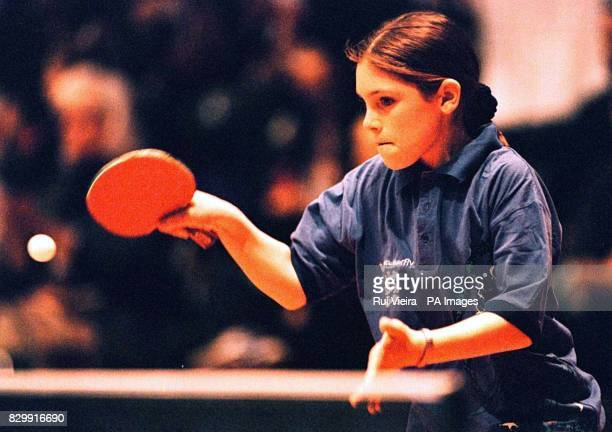 Katy Parker who at 12 years four months and 23 days is the youngest girl ever to represent England in the world table tennis championship made a...