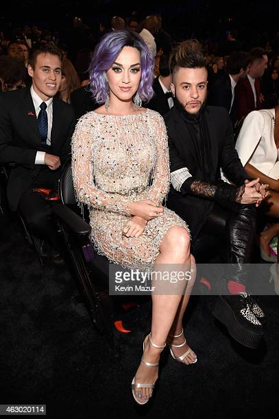 Katy Perry and Ferras attend The 57th Annual GRAMMY Awards at STAPLES Center on February 8 2015 in Los Angeles California