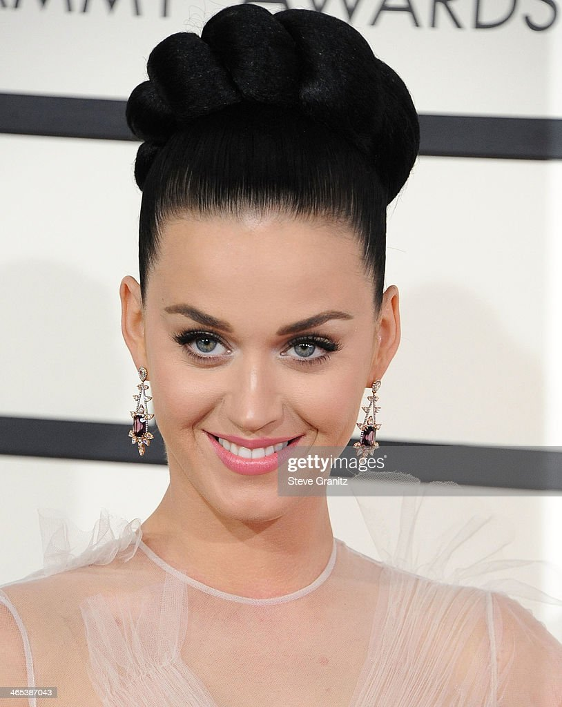 Katy Perry arrivals at the 56th GRAMMY Awards on January 26, 2014 in Los Angeles, California.