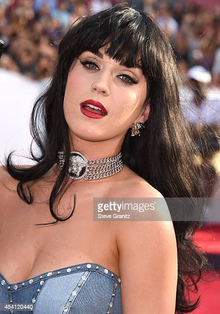 Katy Perry arrives at the 2014 MTV Video Music Awards at The Forum on August 24 2014 in Inglewood California