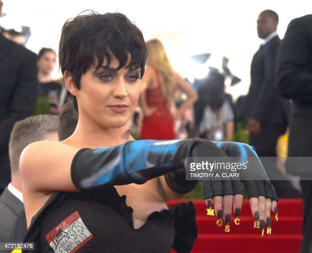 Katy Perry arrives at the 2015 Metropolitan Museum of Art's Costume Institute Gala benefit in honor of the museums latest exhibit China Through the...