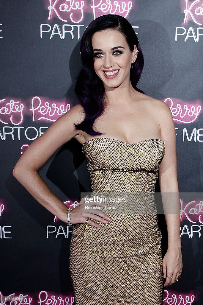 Katy Perry arrives at the 'Katy Perry: Part Of Me' Australian Premiere on June 30, 2012 in Sydney, Australia.