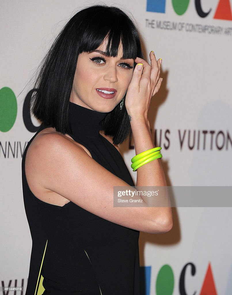 <a gi-track='captionPersonalityLinkClicked' href=/galleries/search?phrase=Katy+Perry&family=editorial&specificpeople=599558 ng-click='$event.stopPropagation()'>Katy Perry</a> arrives at the MOCA 35th Anniversary Gala Celebration at The Geffen Contemporary at MOCA on March 29, 2014 in Los Angeles, California.