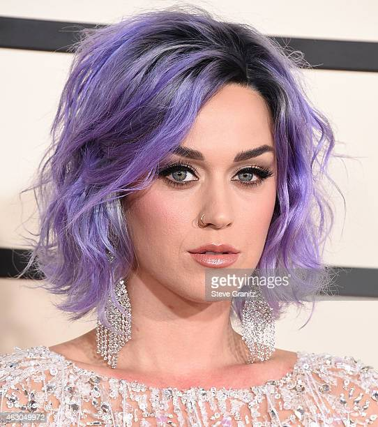 Katy Perry arrives at the The 57th Annual GRAMMY Awards on February 8 2015 in Los Angeles California