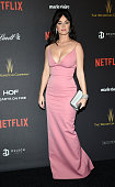 Katy Perry arrives to The Weinstein Company and Netflix 2016 Golden Globes after party at the Beverly Hilton Hotel