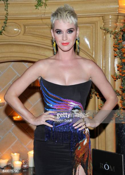 Katy Perry at UGG x Jeremy Scott Collaboration Launch Event at The hwood Group's 'Poppy' on August 27 2017 in West Hollywood California