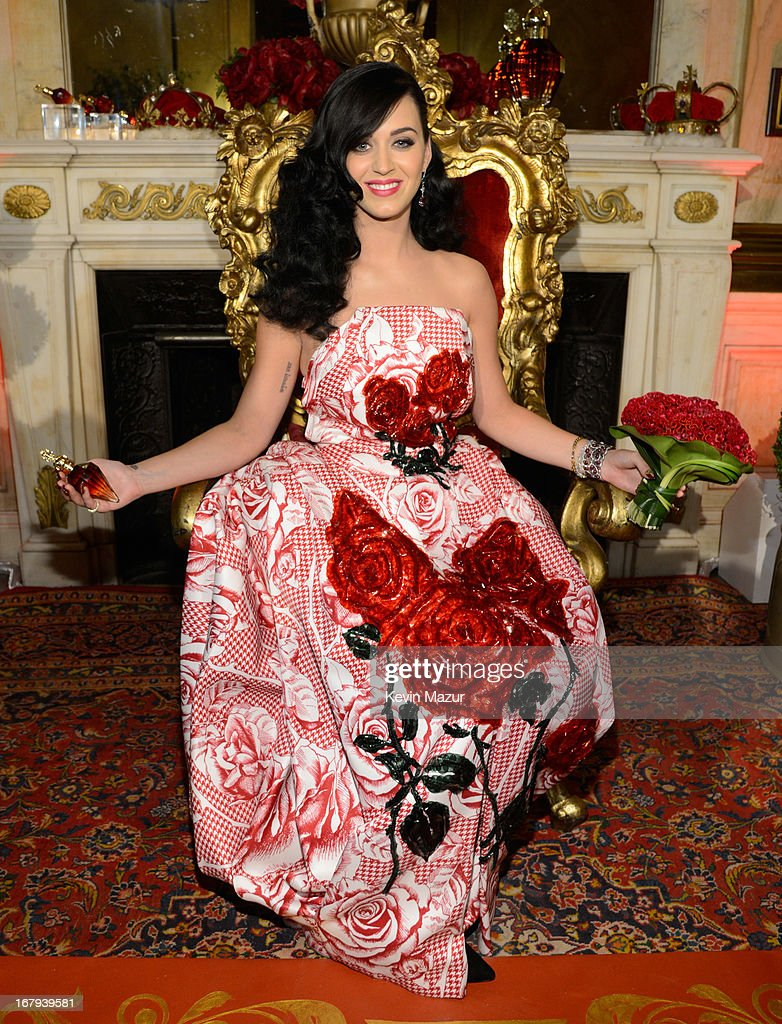 <a gi-track='captionPersonalityLinkClicked' href=/galleries/search?phrase=Katy+Perry&family=editorial&specificpeople=599558 ng-click='$event.stopPropagation()'>Katy Perry</a> attends her fragrance sneak preview at the James B Duke Mansion on May 2, 2013 in New York City.