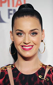 Katy Perry attends on day 1 of the Capital FM Jingle Bell Ball at 02 Arena on December 7 2013 in London England