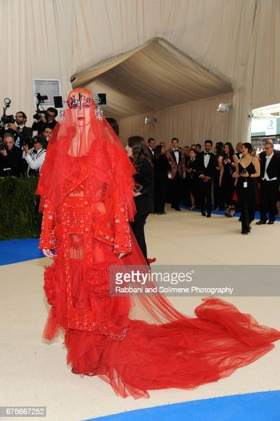 Katy Perry attends 'Rei Kawakubo/Comme des Garcons Art Of The InBetween' Costume Institute Gala Arrivals at Metropolitan Museum of Art on May 1 2017...