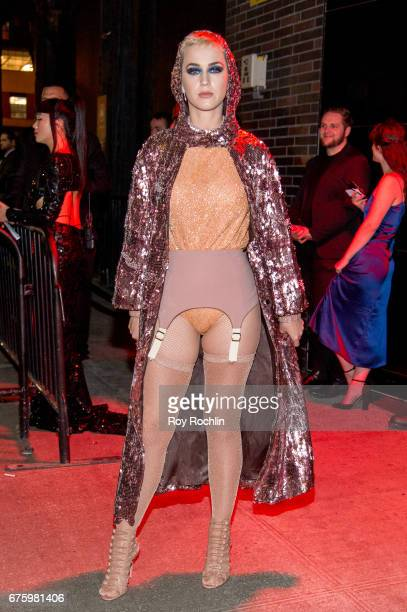 Katy Perry attends 'Rei Kawakubo/Comme des Garcons Art Of The InBetween' Costume Institute Gala After Party at the Standard Hotel on May 1 2017 in...