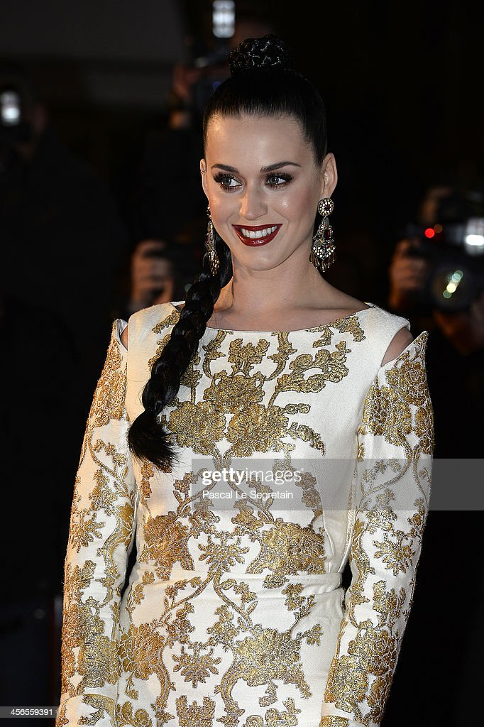 Katy Perry attends the 15th NRJ Music Awards at Palais des Festivals on December 14, 2013 in Cannes, France.