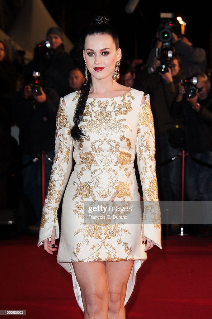 <a gi-track='captionPersonalityLinkClicked' href=/galleries/search?phrase=Katy+Perry&family=editorial&specificpeople=599558 ng-click='$event.stopPropagation()'>Katy Perry</a> attends the 15th NRJ Music Awards at Palais des Festivals on December 14, 2013 in Cannes, France.