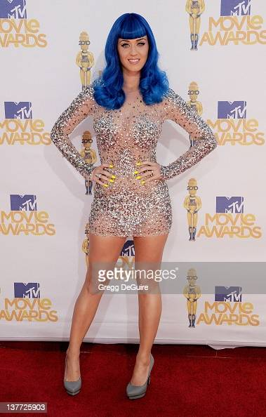 Katy Perry attends the 2010 MTV Movie Awards at the Gibson Amphitheatre on June 6 2010 in Universal City California